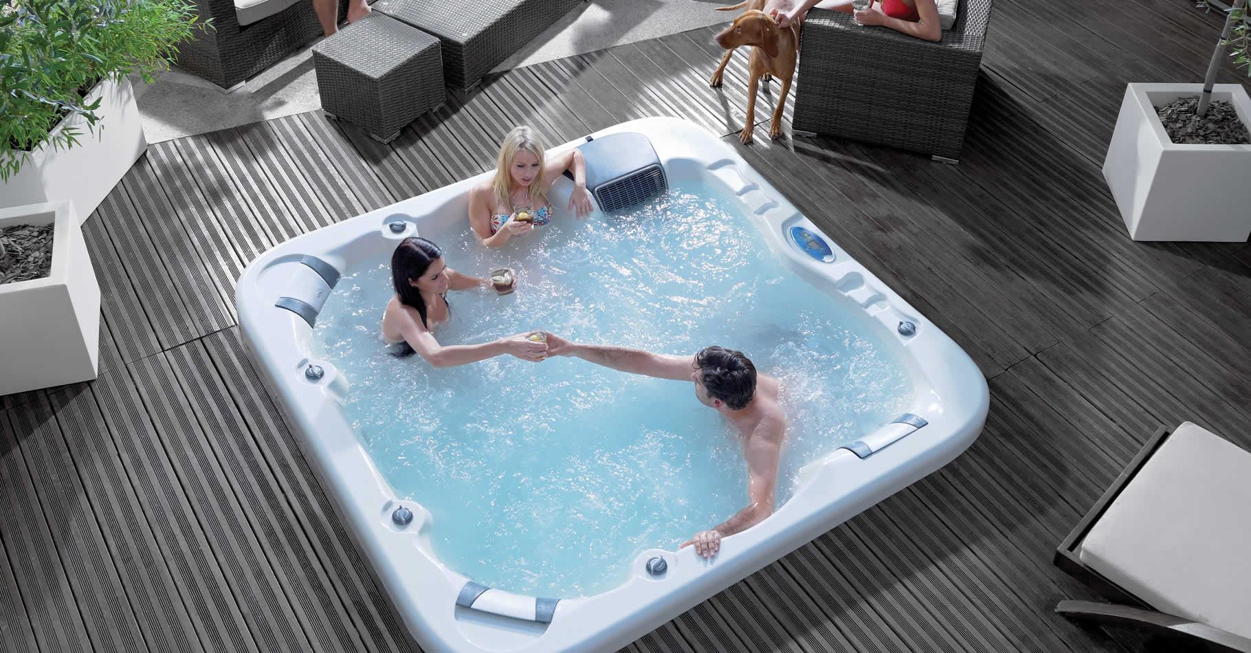Progettazione e costruzione mini piscine e vasche idromassaggio