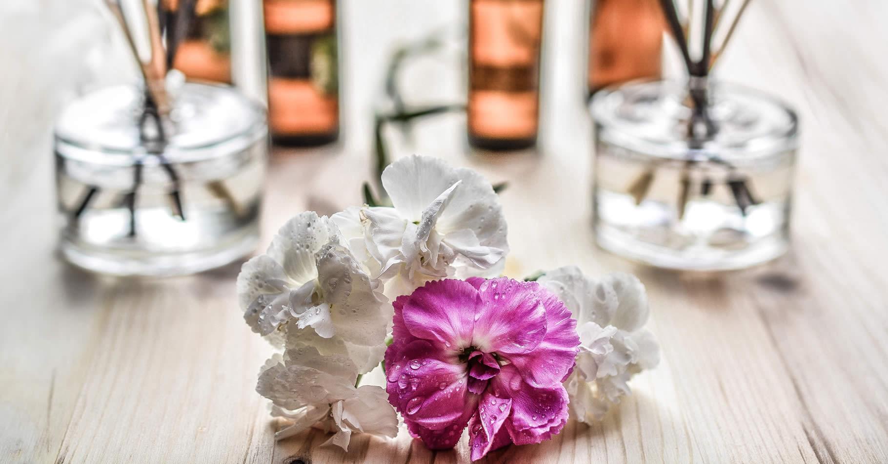 Aromi ed essenze per spa e centri benessere